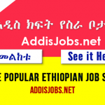 Jobs in Ethiopia – Find New Jobs in Ethiopia